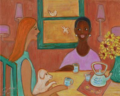Girlfriends' Teatime Poster