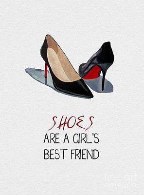 Girl's Best Friend Poster by Rebecca Jenkins