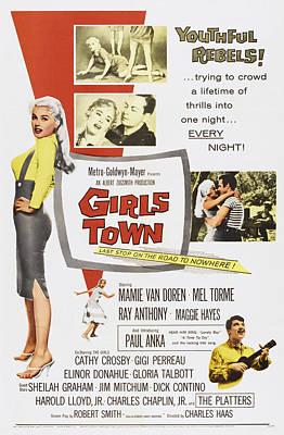 Girls Town, Us Poster, Mamie Van Doren Poster