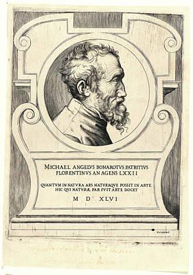 Giulio Bonasone Italian, Ca. 1510 - After 1576. Portrait Poster by Litz Collection