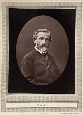 Giuseppe Verdi Poster by British Library
