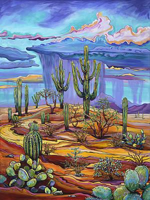 Giving Back To The Desert Poster