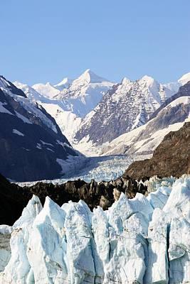 Poster featuring the photograph Glacier Bay Alaska by Sonya Lang