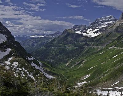 Glacier Path Poster