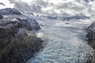 Glacier Poster by Patricia Hofmeester