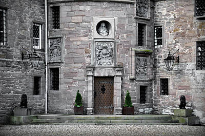 Glamis Castle. Doorway Poster by RicardMN Photography