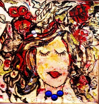 Glamour Girl Poster by Anne-elizabeth Whiteway