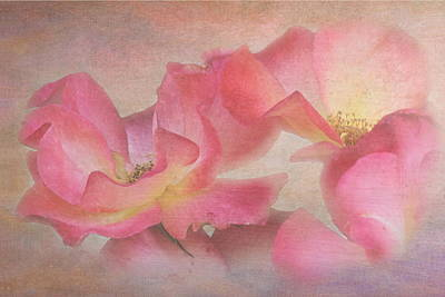 Glamour Roses Poster by Angie Vogel
