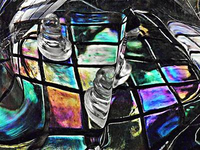 Glass Abstract 368 Poster