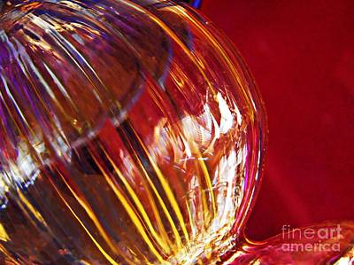 Glass Abstract 567 Poster