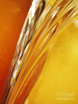 Glass Abstract 737 Poster by Sarah Loft