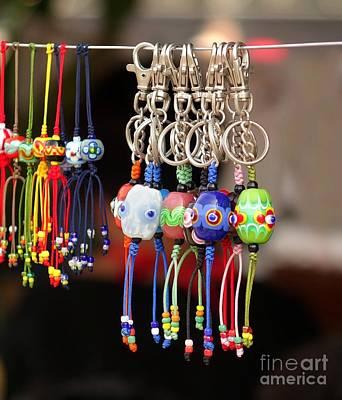 Glass Beads Jewelry Poster