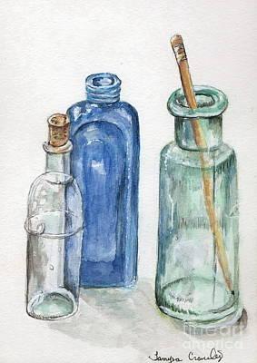 Glass Jars Poster