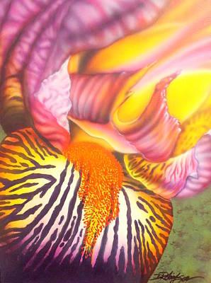 Glavis Iris Poster