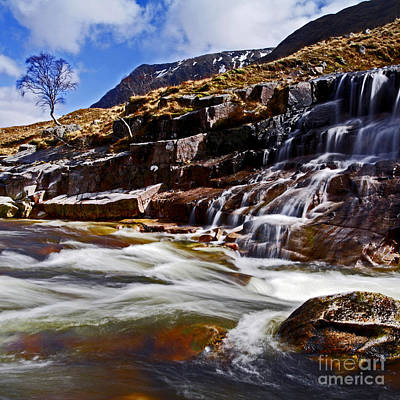 Poster featuring the photograph Glen Etive by Craig B