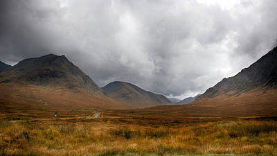 Poster featuring the photograph Glen Etive by Trever Miller