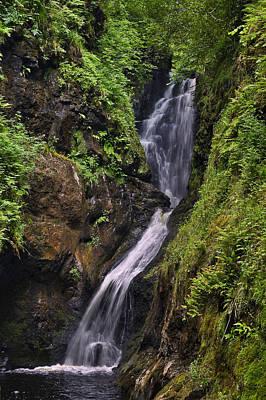 Glenariff Waterfall Poster by Jane McIlroy