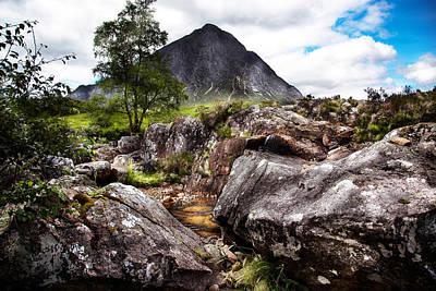 Glenetive Mor Glencoe Scotland Poster by Niall McWilliam