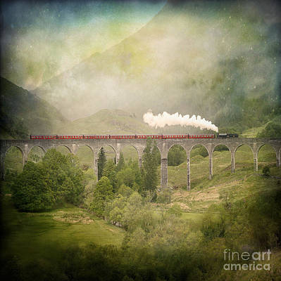 Poster featuring the photograph Glenfinnan by Roy  McPeak