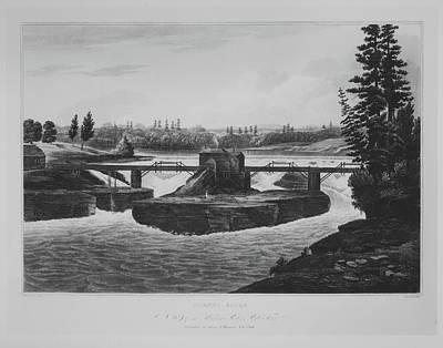 Glenns Falls No. 6 Of The Hudson River Poster