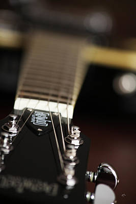 Glimpse Of A Guitar Poster