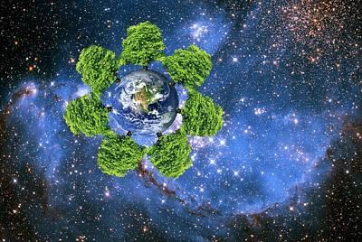 Global Environment Poster