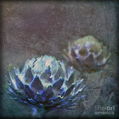 Globe Artichoke Poster by Liz  Alderdice