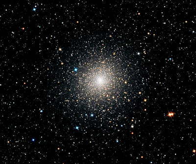 Globular Cluster Ngc 2808 Poster by Damian Peach