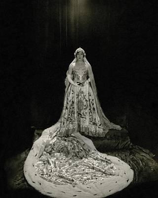 Gloria Swanson Wearing A Costume Poster