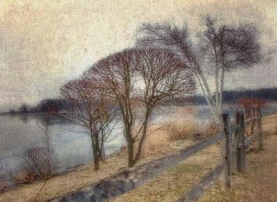 Gloucester Winter Morning - Vintage Poster