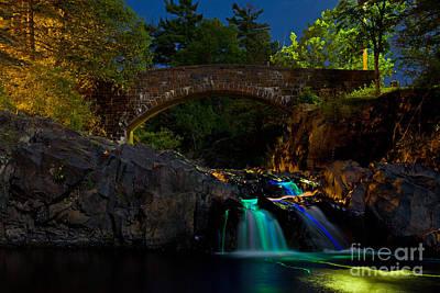 Glow Falls Poster