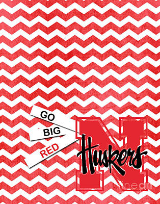 Go Big Red Poster