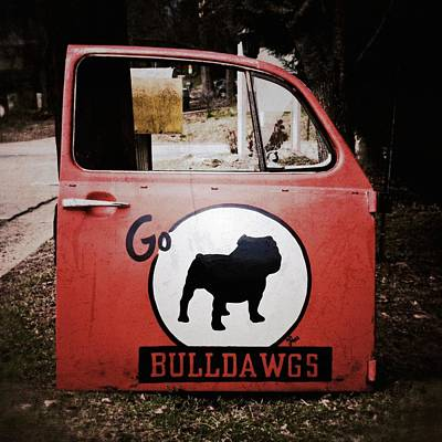 Go Bulldawgs Poster by Brandon Addis