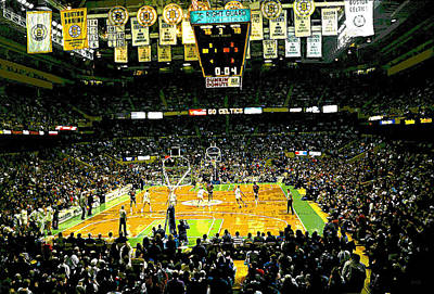 Go Celtics Poster