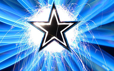 Go Cowboys Poster