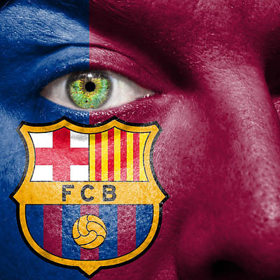 Go Fc Barcelona Poster by Semmick Photo