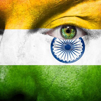Go India Poster by Semmick Photo