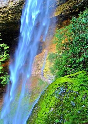 Goat Creek Falls Poster