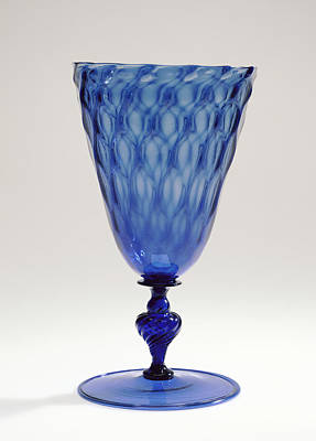 Goblet Unknown Façon De Venise, Netherlands Possibly Poster by Litz Collection