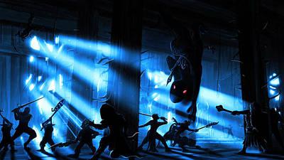 Goblin Throne Room Poster