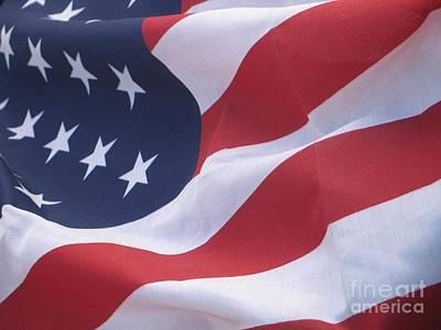 God Bless America Poster by Chrisann Ellis