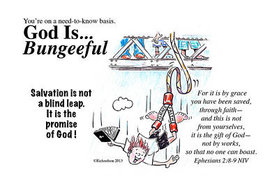 God Is Bungeeful Poster