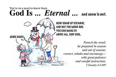 God Is Eternal Poster