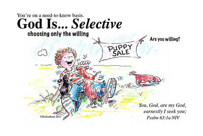 God Is Selective Poster