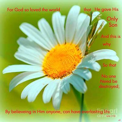 God So Loved Us Poster