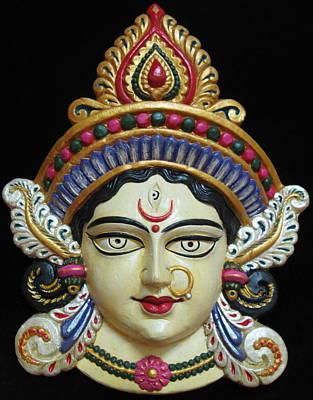 Goddess Durga Poster by Sayali Mahajan