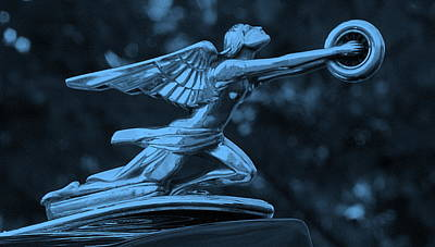 Poster featuring the photograph Goddess Hood Ornament  by Patrice Zinck