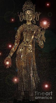 Goddess Magic By Jrr Poster