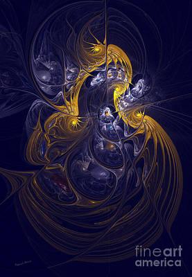 Goddess Of Healing Energy Poster