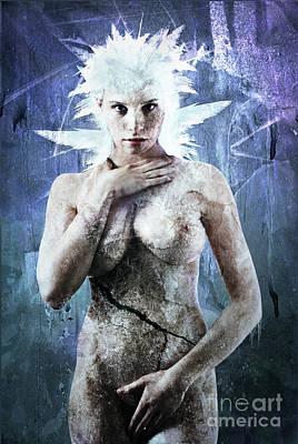 Goddess Of Water Poster